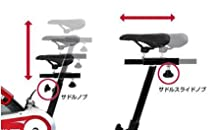サドル調節ALINCO アルインコ フィットネスバイク スピンバイク1600 ホイール重量 13kg 安全カバー BK1600 トレーニング 無酸素運動 有酸素運動 ハード 筋トレ