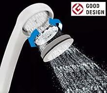 サーモスタット付シャワーバス水栓