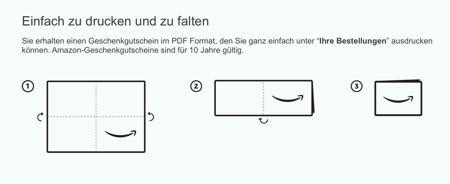Amazon.de Gutschein zum Drucken (Verschiedene Motive): Amazon.de ...