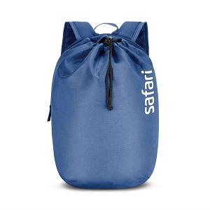 SAFARI 15 Ltrs Denim Blue Casual Backpack