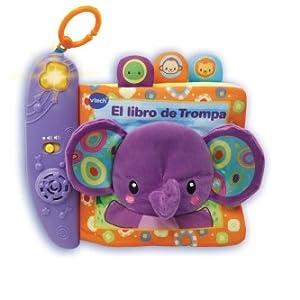 VTech-El Libro de Trompa Cuento de Tela Interactivo para bebé con ...