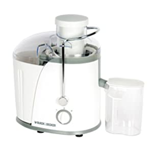 Black & Decker 400W Juice Extractor With Wide Chute