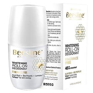 Beesline Whitening Roll-on Fragrance-Free Deodorant