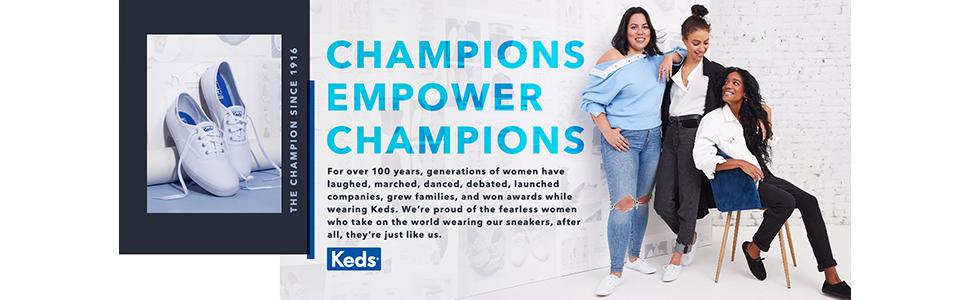 Keds Champion Leather Women 7 Black