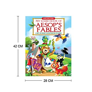 Buy Aesop's Fables (My Jumbo Book) Book Online at Low Prices ...