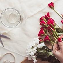 Cómo secar las rosas