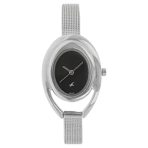 Fastrack Fits and Forms Analog Black Dial Women's Watch
