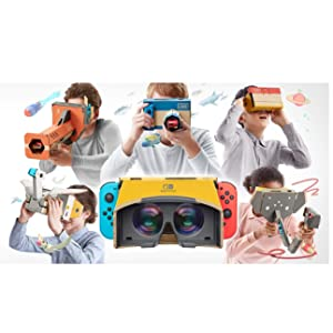 SWITCH Nintendo LABO: Kit de VR (set completo): Amazon.es: Videojuegos