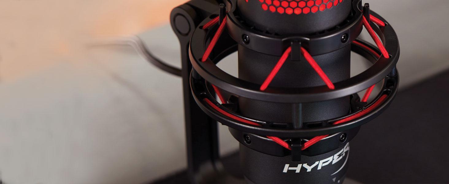 Built-in anti-vibration shock mount