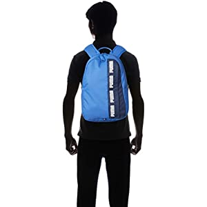 PUMA Unisex-Adult Backpack, Blue