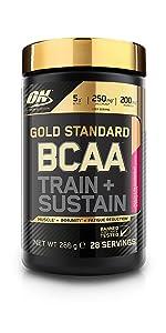 Gold Standard, BCAA, Optimum Nutrition