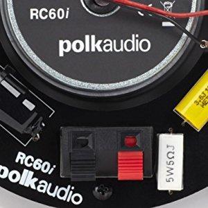 Polk Audio Rc60i 2 Way In Ceiling Speakers Pair White