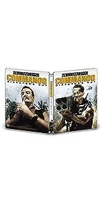 コマンドー ディレクターズ・カット(製作30周年記念日本語吹替新録版)スチールブック仕様(完全数量限定生産) [Blu-ray]