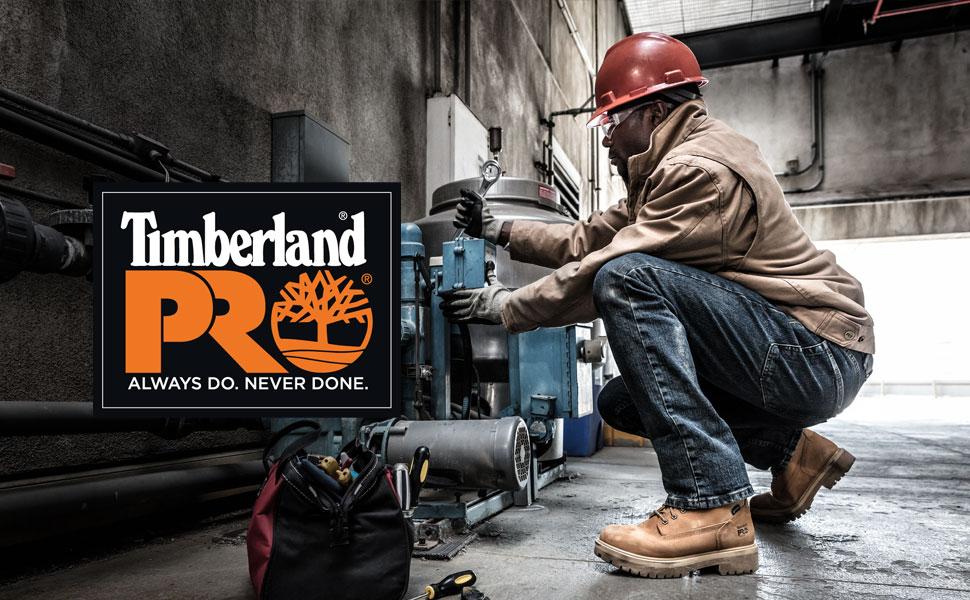 "Timberland PRO Men's 6"" Pit Boss Steel-Toe"