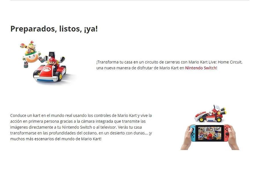 Mario Kart Live: Home Circuit (Mario): Amazon.es: Videojuegos