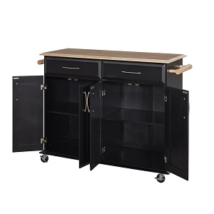 dolly madison kitchen island cart amazon com dolly madison black kitchen cart by home styles kitchen islands carts 1182