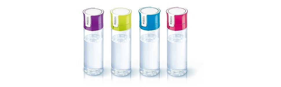 BRITA ブリタ 水筒 直飲み 600ml 携帯用 浄水器 ボトル カートリッジ 1個付き フィル&ゴー