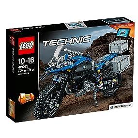 LEGO Technic 42063 BMW R1200 GS Adventure Motorrad Motorbike N1//17