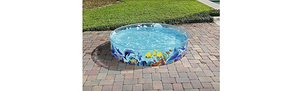 Bestway 55030 - Piscina Infantil Fill N Fun 183 cm Animales ...