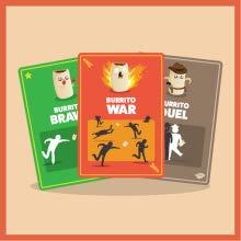 puzzle games burrito war, burrito brawl, burrito duel, throw