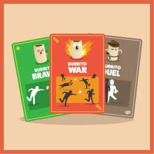 burrito war, burrito brawl, burrito duel, throw
