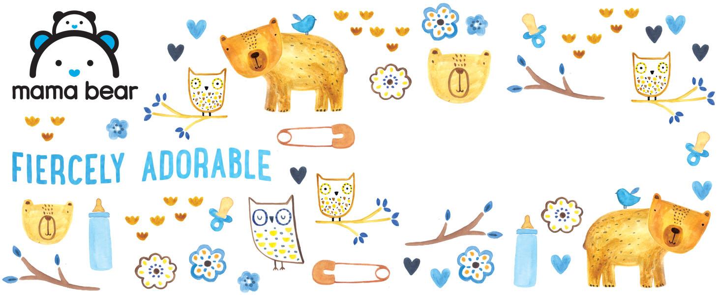 Amazon.com: Marca Amazon – Alimentador de silicona Mama Bear ...