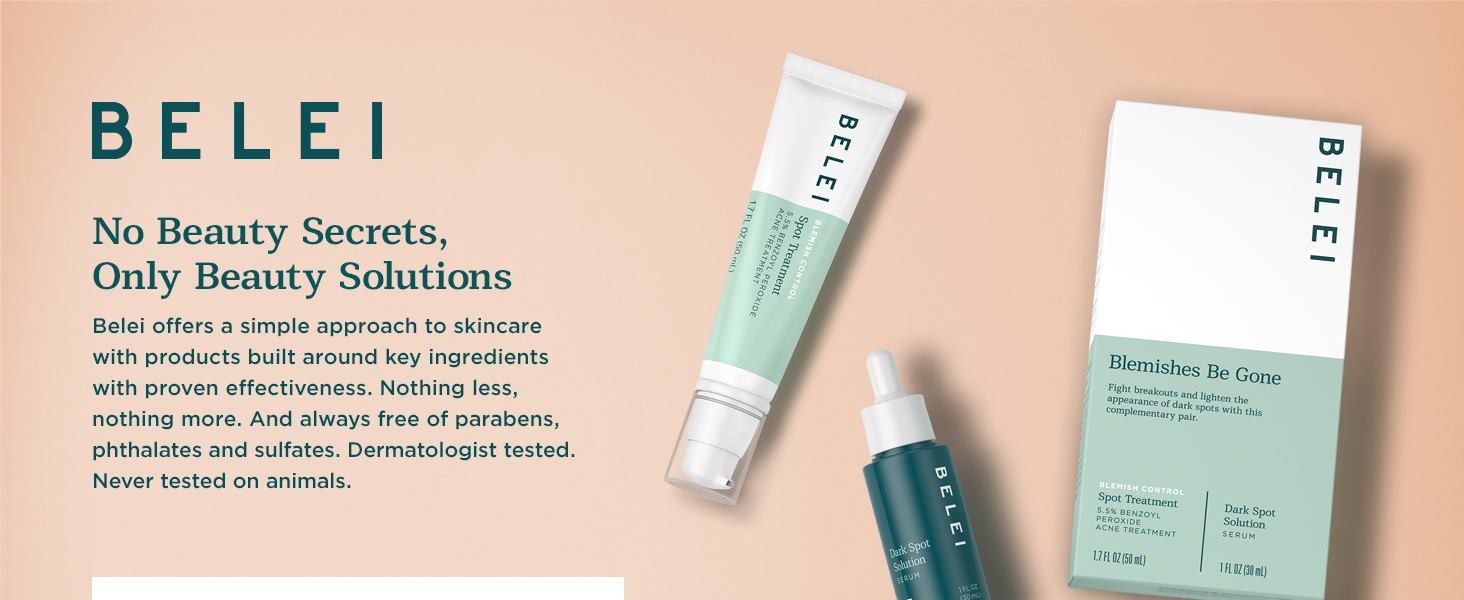clean beauty, dermatologist tested, acne tested