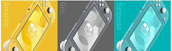 Nintendo Switch Lite - Consola Amarillo: Nintendo: Amazon.es: Videojuegos