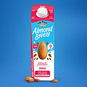 Almond Breeze Bebida de Almendra Zero - Paquete de 6 x 1000 ml - Total: 6000 ml (317): Amazon.es: Alimentación y bebidas
