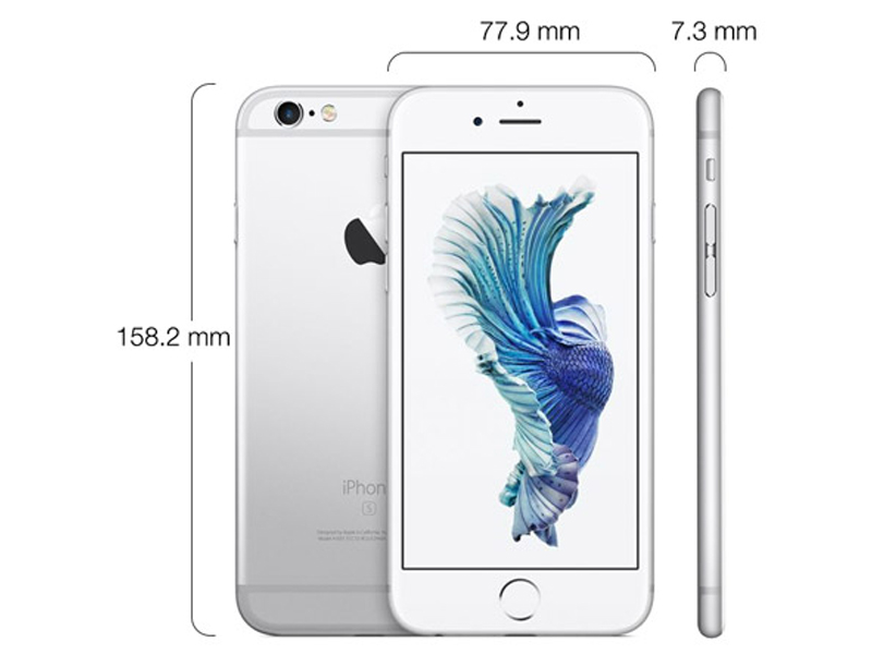 Apple iPhone 6S Plus without FaceTime - 32GB, 4G LTE, Silver