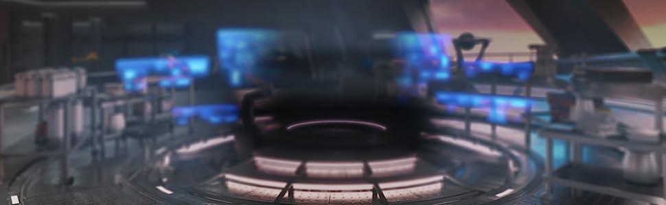 トニー・スタークのガレージでは、アイアンマンのスーツとスキルをカスタマイズすることが可能