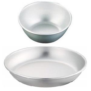 アカオアルミ 給食用食器 13cm アルミニウム(アルマイト) 日本 RKY12013