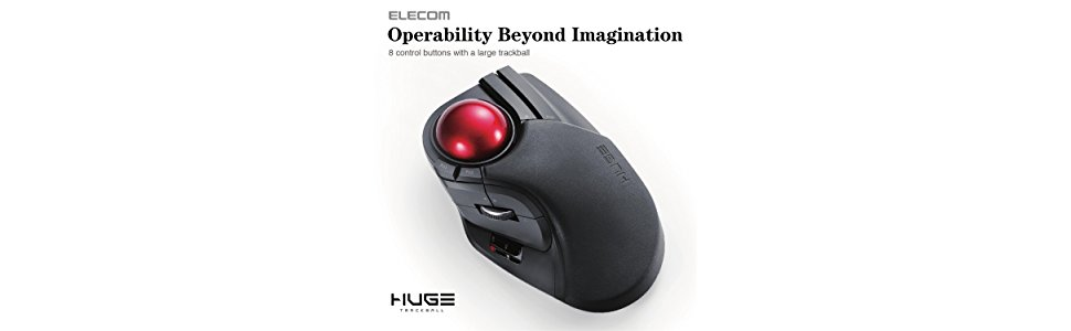 29c56ea468b Expand Gaming and Work Efficiency with a Large, Precision Trackball Mouse.