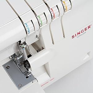 Singer 14SH654 - Remalladora, 1300 ppm, Color Blanco: Amazon.es: Hogar