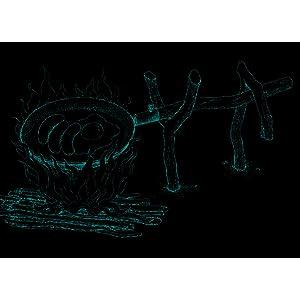Bush Craft ブッシュクラフト) たき火フライパン 10-03-orig-0002