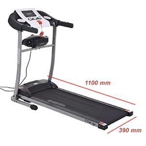 Cockatoo CTM-04 Home Use 2 HP Motorised Multi-Function Treadmill(Free  Installation Assistance)