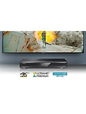 Panasonic DMR-UBC80 Grabador de Blu-Ray 3D, color Negro: Amazon.es: Electrónica