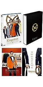 【Amazon.co.jp限定】 キングスマン:ゴールデン・サークル 2枚組ブルーレイ&DVD (オリジナル三方背スリーブケース・ミニクリアファイル2種付)