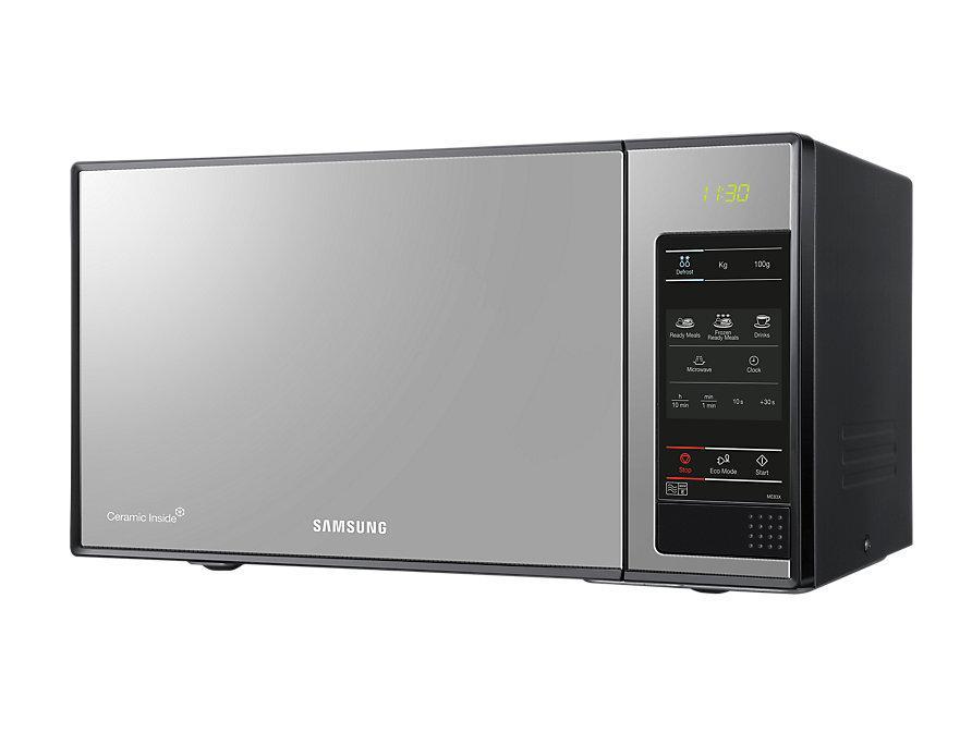 Samsung ge83x encimera microondas encimera microondas con grill 23 l 800 w plata amazon - Microondas encimera ...