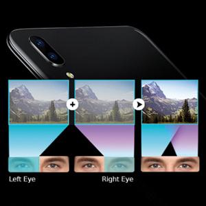 Dual Pixel Sensor