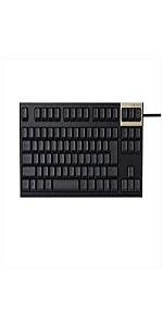 東プレ REALFORCE SA R2 テンキーレス 静音 APC機能付き 日本語 静電容量無接点方式 USB 昇華印刷(墨) かな表記なし ブラック R2TLSA-JP3-BK