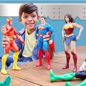 """DC COMICS Justice League - Figuras de acción de 12"""" (escala de 12 pulgadas, 3+"""