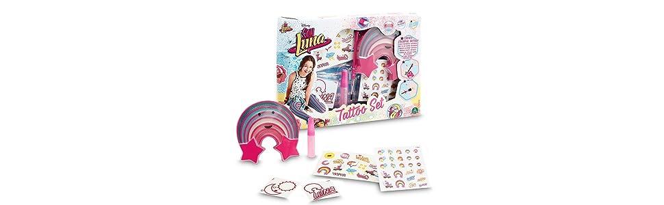 Soy Luna - Set de Tatuaje (Giochi Preziosi YLU10001): Amazon.es ...