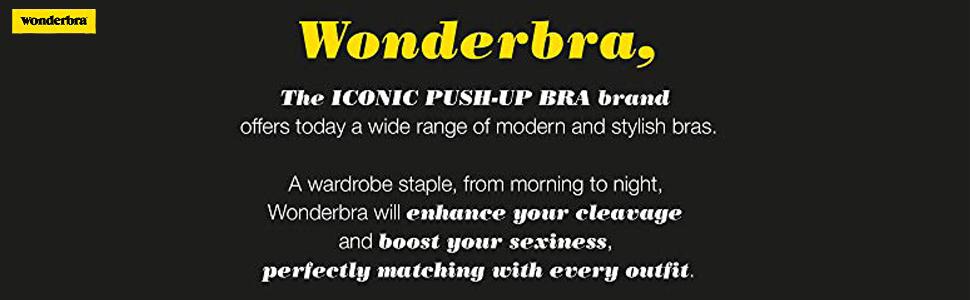 Wonderbra Womens Push up Bra in