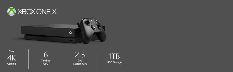 Microsoft Xbox One X - Consola 1 TB 4K HDR Negro + Red Dead Redemption 2 (Xbox One): Amazon.es: Videojuegos