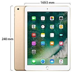 New Apple iPad - March 2017-9.7 Inch Retina Display with Facetime Gold