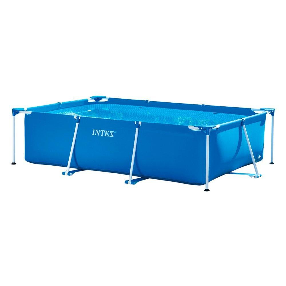 Intex piscina frame rettangolare 300x200x75 cm amazon for Alberca intex