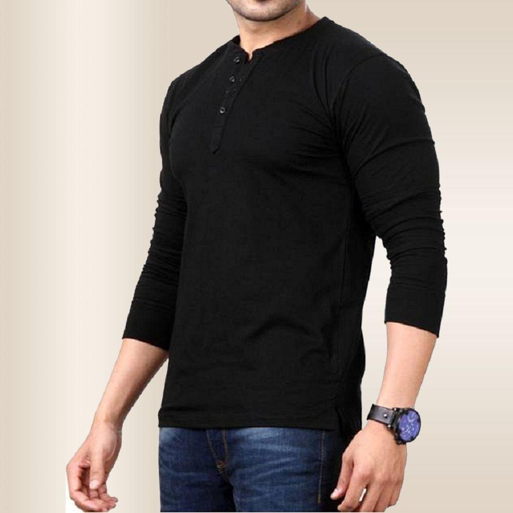 0f133b12 Style Shell Men's Cotton Long Sleeve Top (Vnk): Amazon.in: Clothing ...