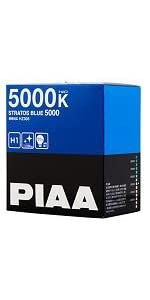 PIAA ( ピア ) ハロゲンバルブ 【ストラトスブルー 5000K】 H1 12V55W 2個入り