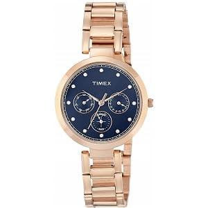 Timex Analog Blue Dial Women's Watch